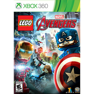 Xbox 360 Games - LEGO Marvel Avengers Xbox 360 [Brand New]