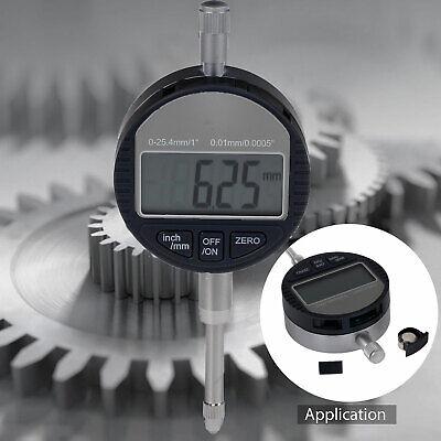 Digital Dial Indicator 0.01mm0005 Probe 0-12.7mm0.5 Range Clock Dti Gauge