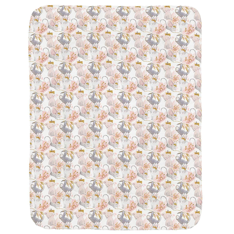 Carousel Designs  Baby Girl Crib Comforter Watercolor Pink &