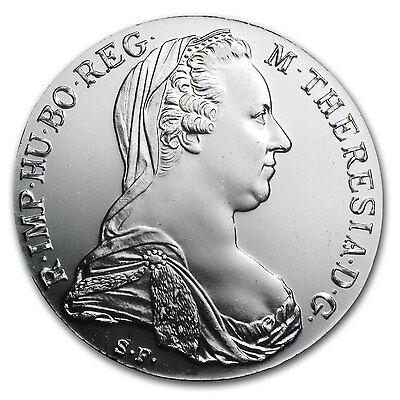 1780 Austria Maria Theresa Silver Thaler Coin - AU or Better - SKU #9572