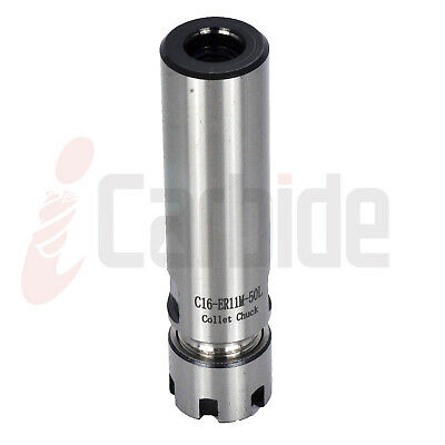 New C16 Er11m 50l Straight Shank Tool Holder Cylindrical Collet Holder Usa Sell