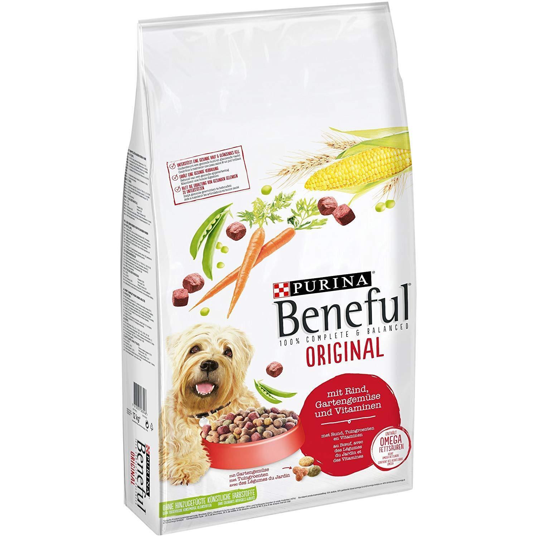 12 kg Purina Beneful Hundefutter Trockenfutter, Mit Rind und Gemüse