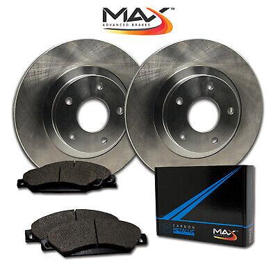 1999 2000 2001 2002 2003 Audi A4 OE Replacement Rotors w/Metallic Pads F