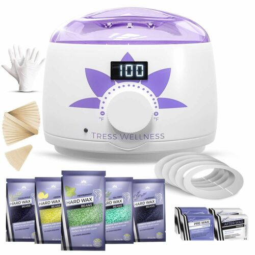 Home Waxing Kit Wax Warmer Hair Removal Professional Machine Body Pot Brazilian