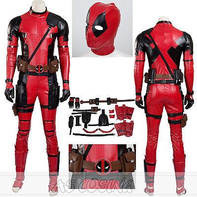 Custom Made Superhero Costumes (Deadpool Costume SuperHero Costume Halloween Costume Custom Made Deadpool)