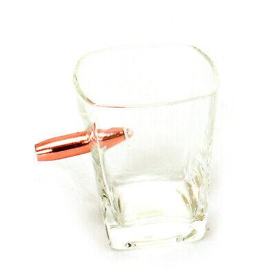 Whiskeyglas Last Man Standing mit Patrone im Glas Whiskyglas Whiskey Tumbler