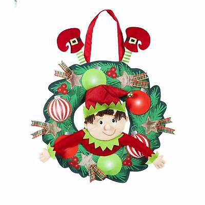 Evergreen Flag Indoor and Outdoor-Safe Decorative Elf Troubl