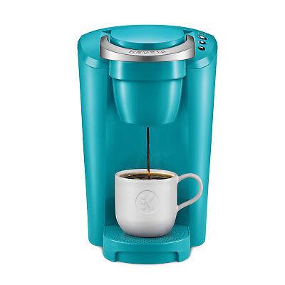 Keurig K-Close Single-Serve K-Cup Pod Coffee Maker, Turquoise