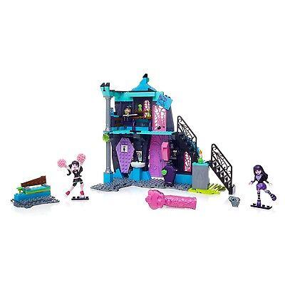 Mega Bloks Monster High School Fang Out Halloween Childrens Figures Toy Playset (Halloween High School Games)