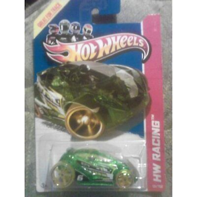 Hot Wheels Hw Racing Vandetta 131/250 Orange with Red Rims Great for Track Card