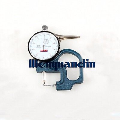 Digital Tube Thickness Guage Measuring Instrument Thickness Meter Dial Tester
