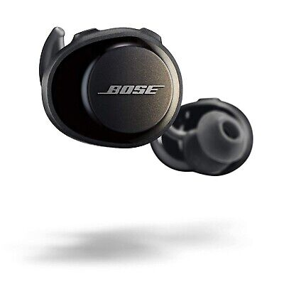 NEW SEALED!! Black Bose SoundSport Free Wireless Bluetooth Ear Buds