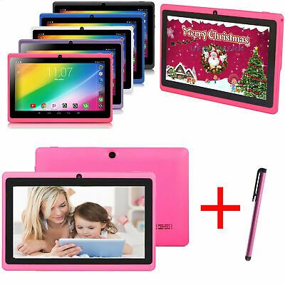 Android6.0 Kids Tablet 7'' inch Quad Core HD Dual Camera WiFi 1GB+16GB Kids Gift