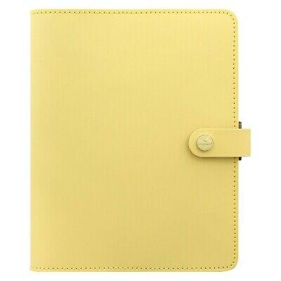 Filofax The Original Leather Organizer Agenda Calendar With Diloro Jot Pad Re...