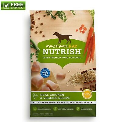 Best Natural Dry Dog Food Rachael Ray Nutrish Chicken & Veggies 40