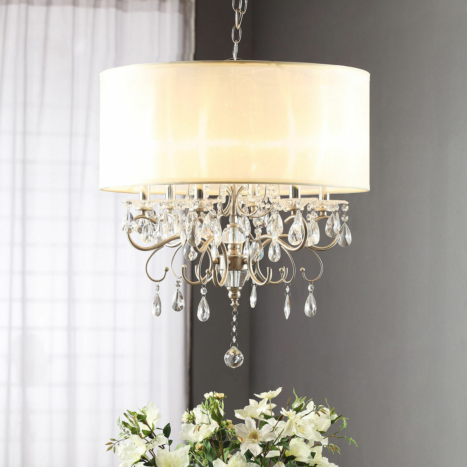 Crystal Chandelier With Drum Shade: Top 10 Chandeliers