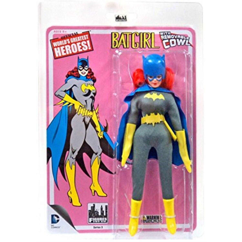 Rem. Cowl Batman Retro Action Figure Series 3 Loose Factory Bag Batgirl