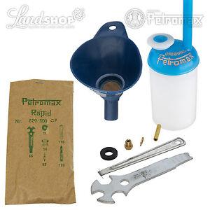 Petromax-juego-de-inicio-HK-500-Lampara-de-luz-fuerte-Camping-Piezas-repuesto