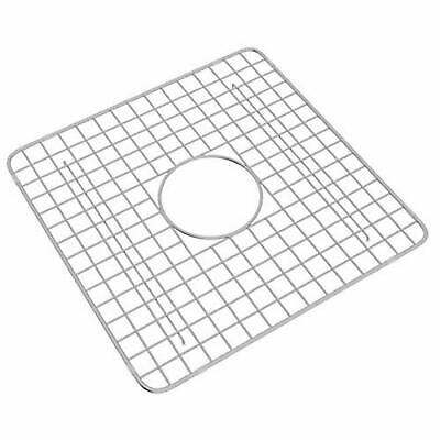 Rohl WSG3719SS Wire Sink Grid for RC3719 Sink, Stainless Steel Finish Rohl Sink Grid