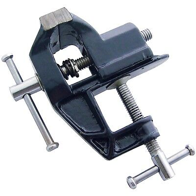 """50MM MINI BABY VICE MODEL MAKING BENCH TABLE FIX CLAMP SMALL 2"""" UK High Quality"""