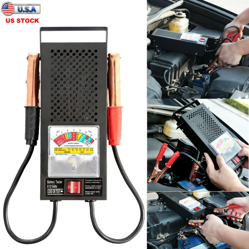 Car Auto Battery Tester 12V Load Analyzer Alternator Cranking Charging Scan Tool