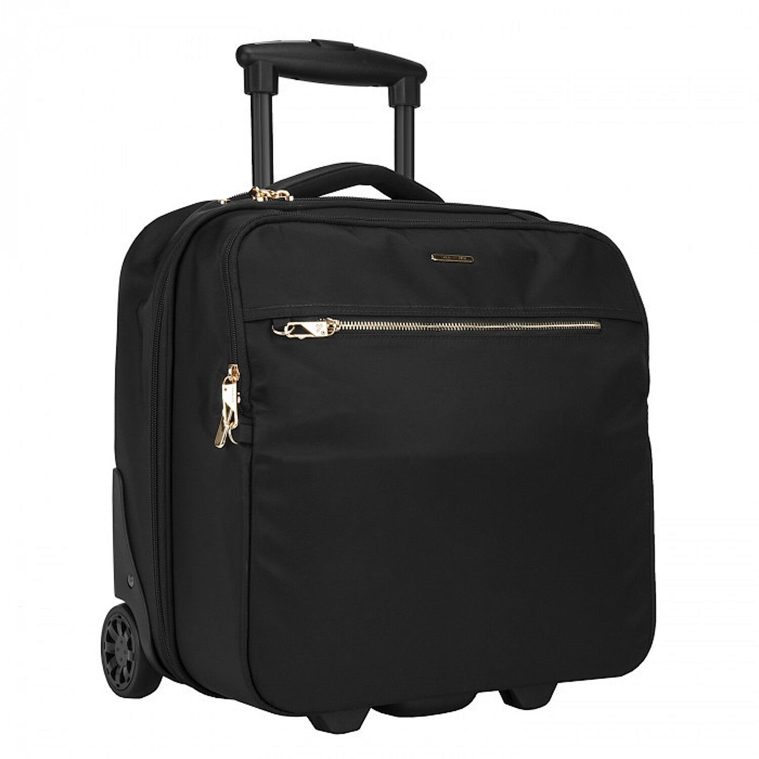 TRAVELON ANTI-THEFT TAILORED WHEELED UNDERSEAT CARRY-ON SPIN