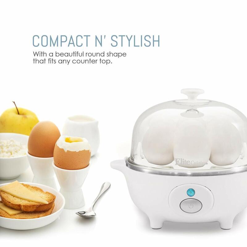 Hard Boiled Egg Cooker Easy Timer 7 eggs Maker Free Automati