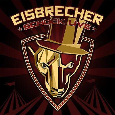 Eisbrecher   Schock  Live  2 Cd  Jewel Case  New