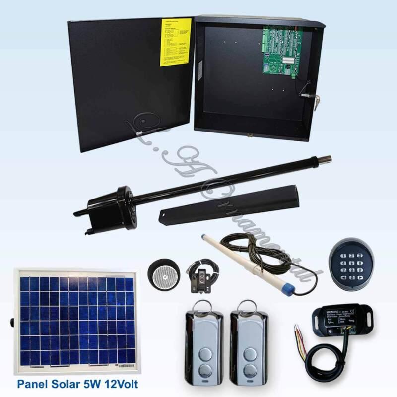 Apollo 1550 Etl Gate Opener Kit 6 Swing System For Ranch And Farm Solar Operator