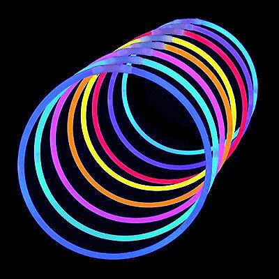 GLOW STICKS Bracelets Necklaces Glow in the Dark Party Festival Concert - Glow In The Dark Glow Sticks