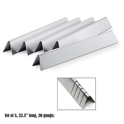 Replacement Weber Stainless Steel Flavorizer Bars 7537,# 9817,7536 7537 /L 22.5