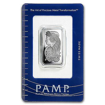 1/2 oz Platinum Bar - PAMP Suisse (In Assay) - SKU #93597