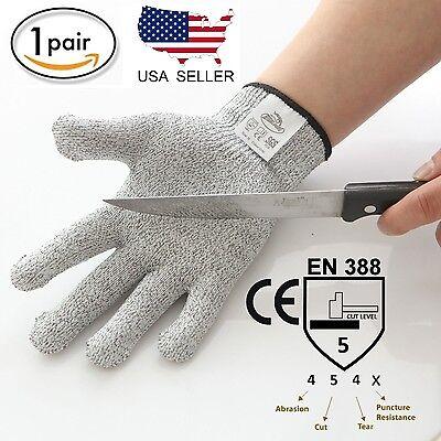 Cut Resistant Gloves Cut Level 5 Protection Food Grade Ce En388 Certified