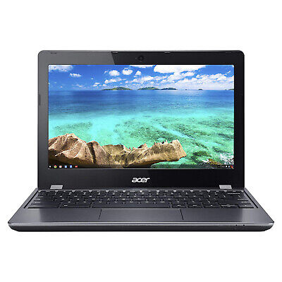 Acer C740-C4PE 11.6 inch 16GB 1.5GHz Chromebook, Black (Certified Refurbished)