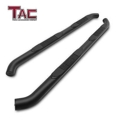 Tac 3  Black Side Step For 2018 Jeep Wrangler Jl 4 Door Nerf Bar Running Boards
