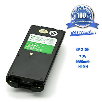 New Battery 7.2V Ni-Mh for ICOM Two-Way Radio Handheld Transceiver  IC-F40GT