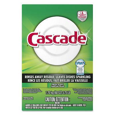 (Cascade Automatic Dishwasher Powder Fresh Scent 60 oz Box 95787EA)
