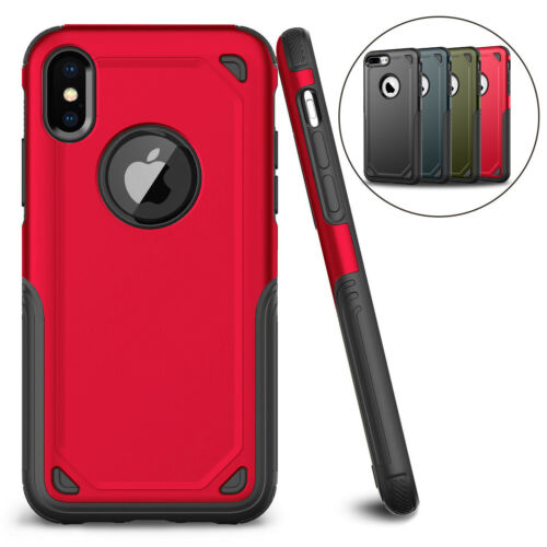 For iPhone XS Max XR X 6 7 8 Plus Protective Shockproof Hybrid Rugged Case Cover