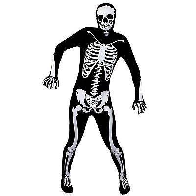 SKELETT BODYSUIT ZOMBIE SUGAR SKULL ALIEN SKELETT BLUTIGER SKIN SUITS - Skelett Skin Suit Kostüm