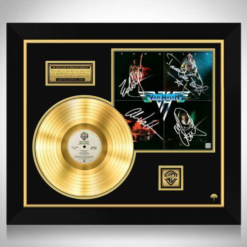 Van Halen Van Halen Gold LP Limited Signature Edition Custom Frame