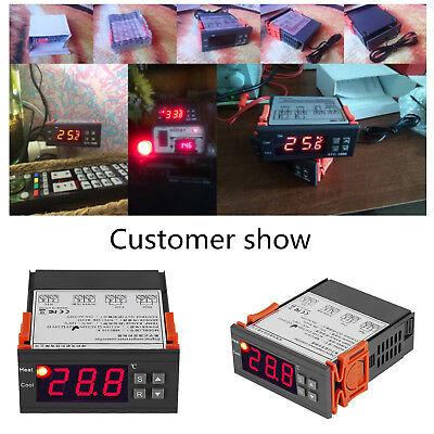Temperaturregler Thermostat Temperatur Regler temperaturschalter 220V 10A NTC DE