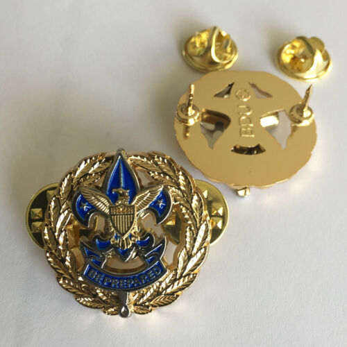 Asst. District Commissioner Badge, One Pair (2) (Scout Service Scouter Boy Pin)