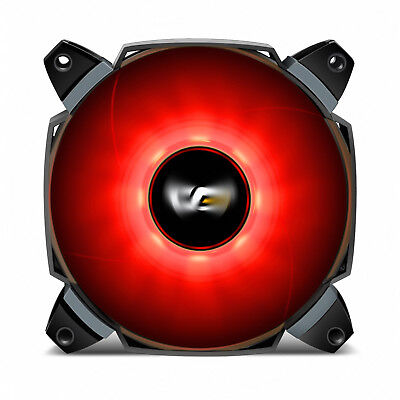 darkFlash Dual Blade 120mm LED Case Fan Large Air flow for Computer Case