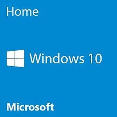 Microsoft Windows 10 Home 32 Bit Approach Builder OEM  PC Disc KW9-00186