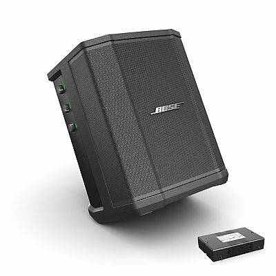 Wireless Battery Powered Pa System - Bose S1 Pro with Rechargeable Battery Pack Bluetooth Portable PA Speaker System