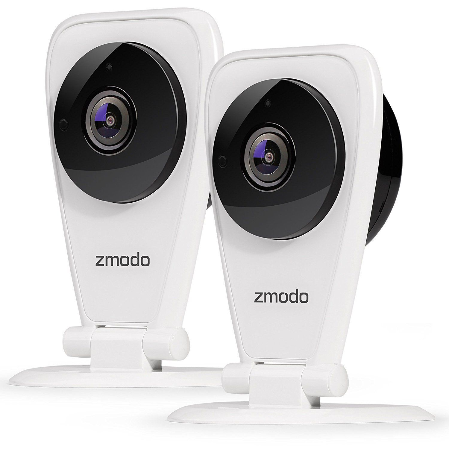 Zmodo 2-Pack EZCam 720p HD IP WiFi Wireless Surveillance Cam