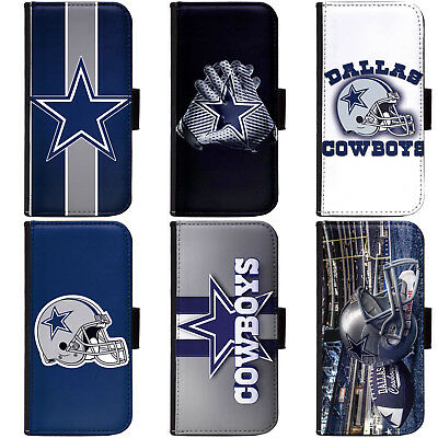 - PIN-1 Dallas Cowboys Phone Wallet Flip Case Cover for All Models