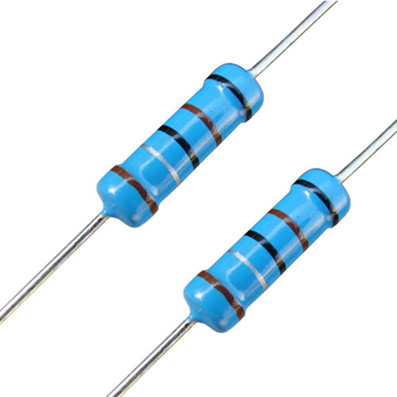20pcs Metal Film Resistor 2W 1/% 100K ohm 100Kohm 100KΩ