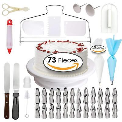 US Cake Decorating Supplies Baking Set Extra Big Decoration Kit Cooking Tools