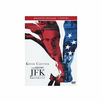 JFK - Director's Cut (1991) 2-Disc Special Ed. * Kevin Costner UK Compatible DVD